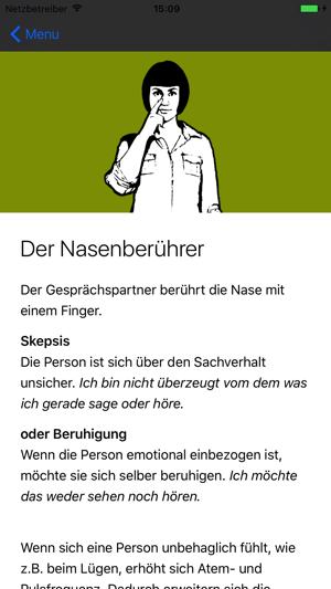 Körpersprache Trainer Screenshot