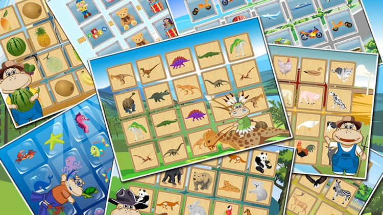 Amazing Match- Memory games for kids toddler baby screenshot-3