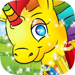 Pony Coloring Books : New Painting Pages