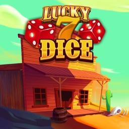 Cowboy Town Lucky 7 Dice
