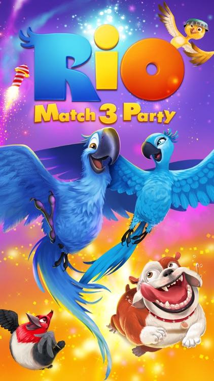 Rio: Match 3 Party screenshot-0