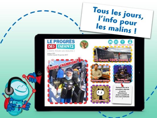 Screenshot #4 pour Le Progrès des Enfants