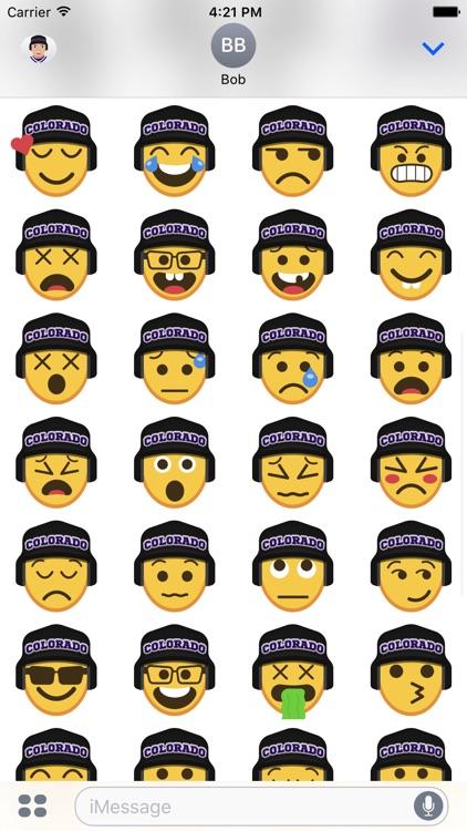 Colorado Baseball Stickers & Emojis screenshot-4