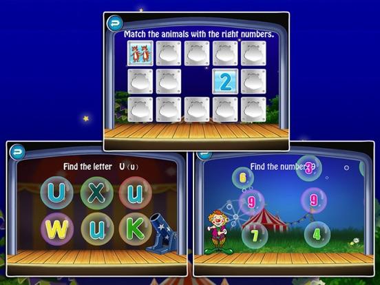 ABC Circus- Alphabet&Number Learning Games kidsのおすすめ画像4