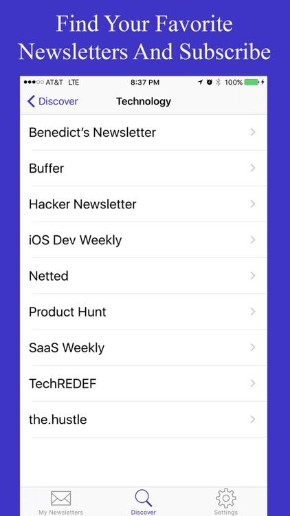 Newsletters screenshot-4