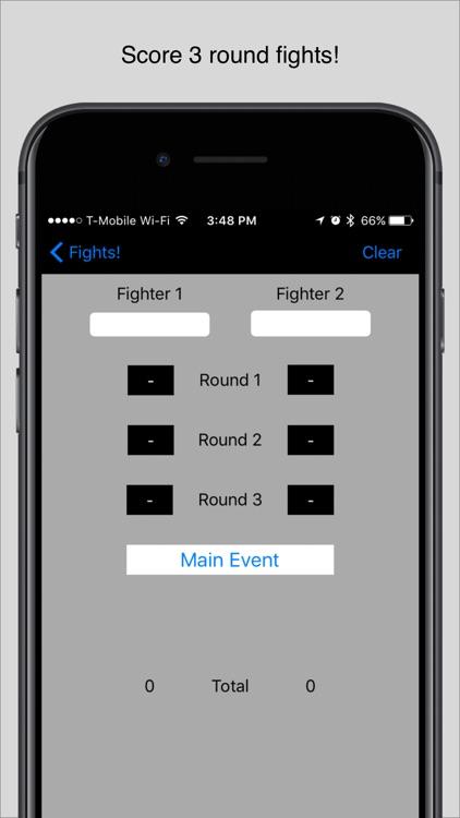 Score MMA