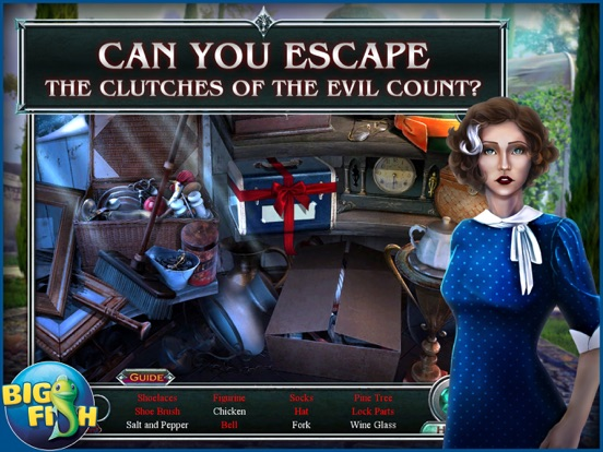 Vampire Legends: The Count of New Orleans HD screenshot 2