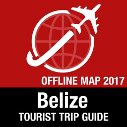 Belize Tourist Guide + Offline Map