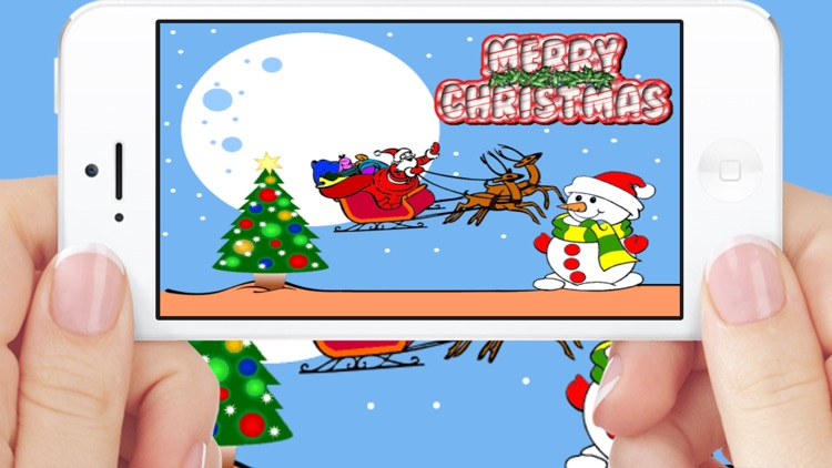 Christmas Santa Coloring Book Games For Kids Free