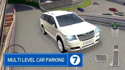 Multi Level 7 Car Parking Garage Park Training Lotのおすすめ画像1