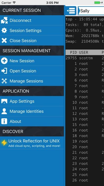 Reflection for UNIX SSH Client screenshot-3