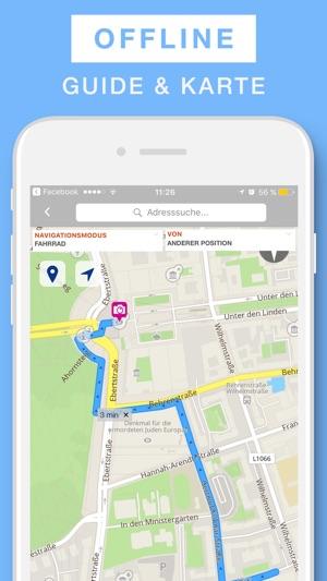 Deutschland Reisefuhrer Offline Karte Im App Store