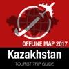 Kazakhstan Tourist Guide + Offline Map