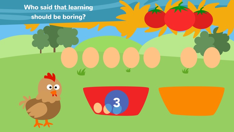 Math Tales The Farm: Rhymes and maths for kids screenshot-3