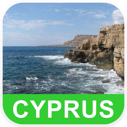 Cyprus Offline Map - PLACE STARS
