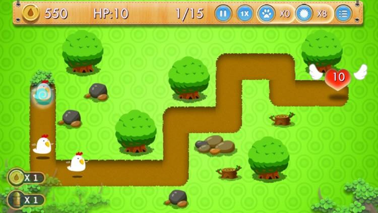 保卫森林之心 - 单机塔防游戏