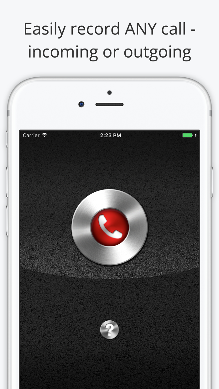 Call Recorder Lite for iPhone Screenshot