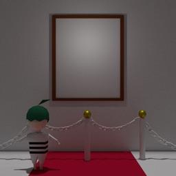 脱出ゲーム -ギャラリー 写真と絵とダイヤモンド
