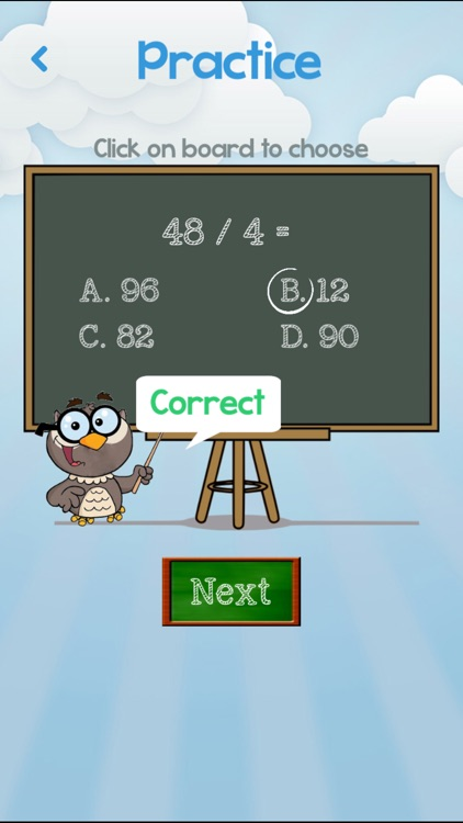 Math Challenge - Learning Game for Kids