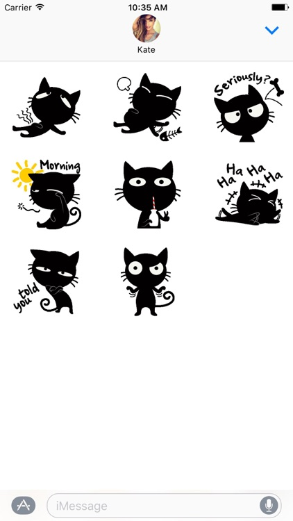 Sneaky The Cat Stickers screenshot-3