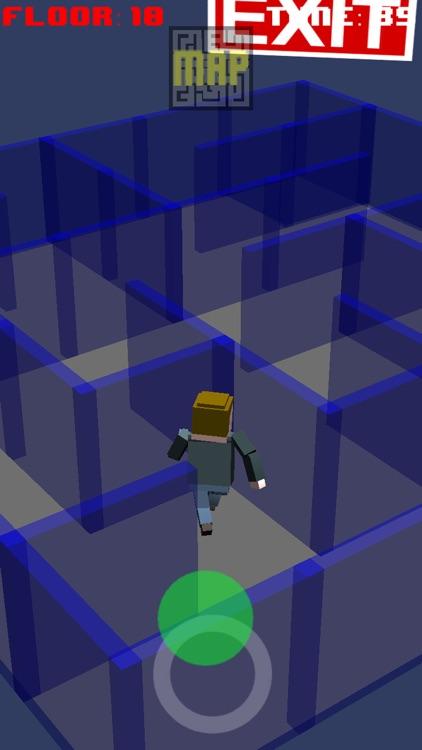Get Out Now - 3D Maze Run Escape Game screenshot-4