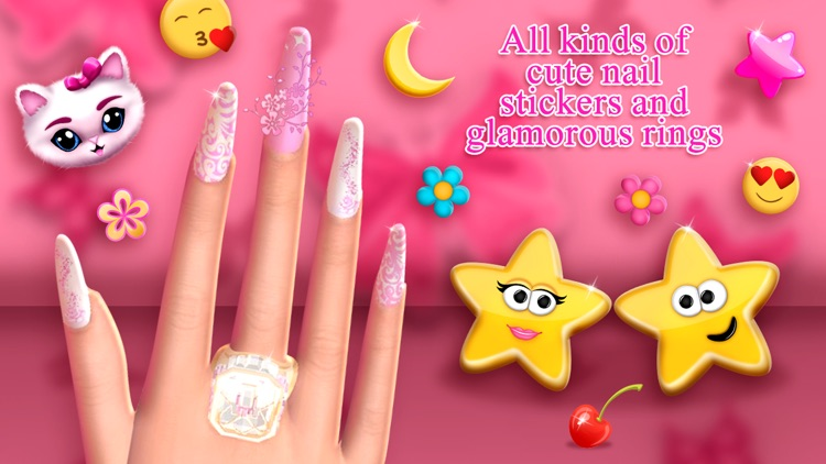 Fashion Nail Salon Game: Amazing Nail Art Designs screenshot-4
