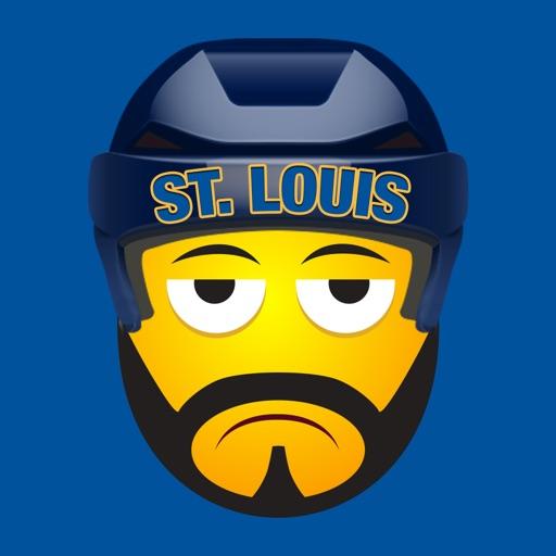 St. Louis Hockey Stickers & Emojis
