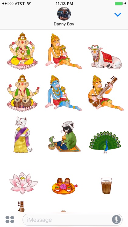 Jazzy India - World Music and Culture Stickers