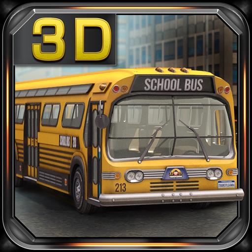 Школьный автобус: Парковочная 3D Мания