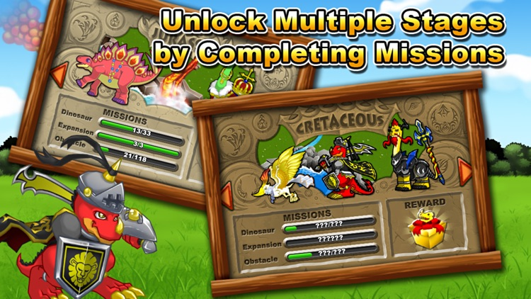 Jurassic Story Dragon Games - Dinosaur City Game screenshot-3