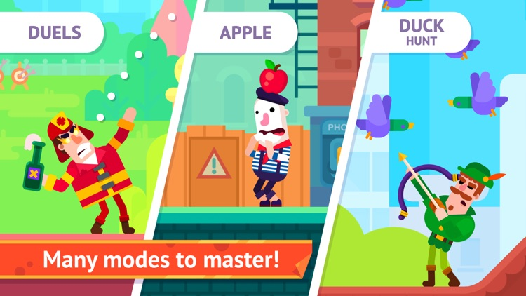 Bowmasters - Top Multiplayer Bowman Archery Game screenshot-4