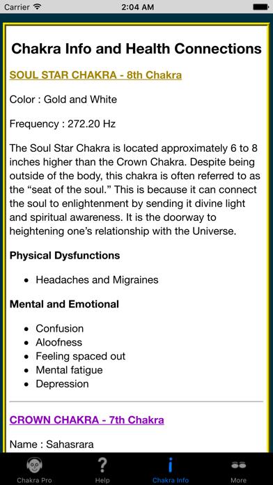 Chakra Pro review screenshots