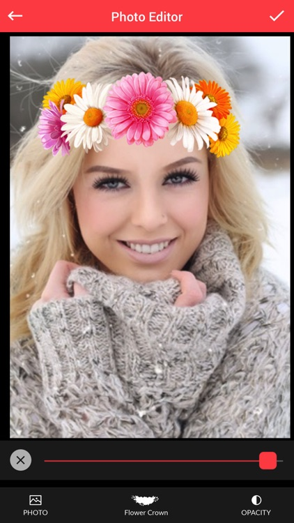 Flower Crown Photo Editor - Flower Crown Stickers screenshot-4