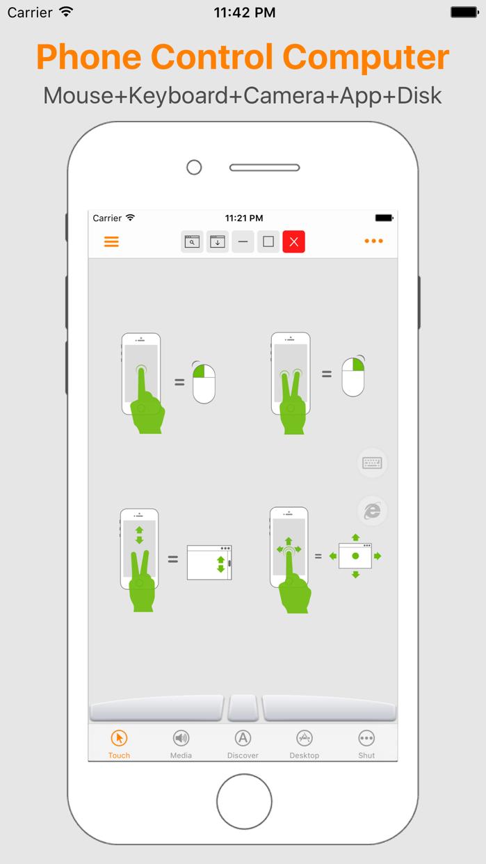Mini Mouse Pro -Remote Control Screenshot