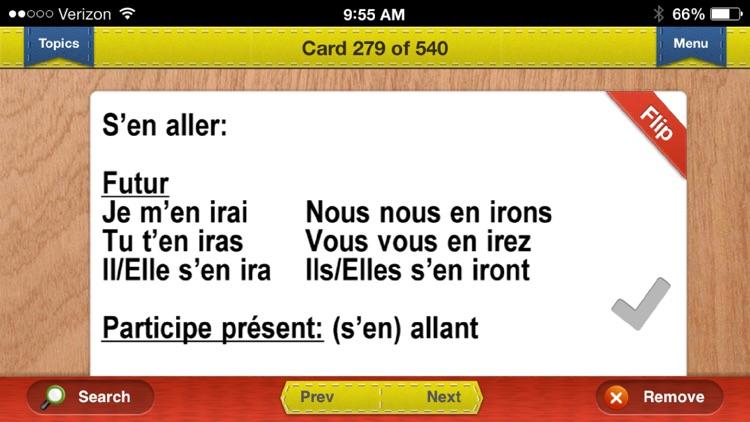 AP French & Spanish Prep Flashcards Exambusters screenshot-4