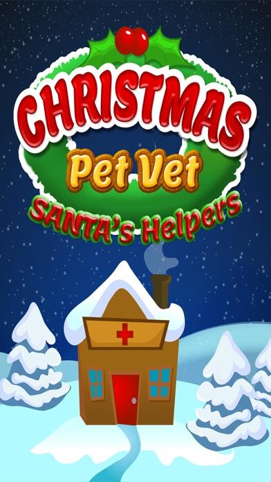 Christmas Pet Vet Doctor Santa Animal Hospital Zooのおすすめ画像1