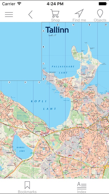 Tallinn. City plan. screenshot-0