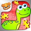 123 Kids Fun PUZZLE RED - Kids Jigsaw Puzzle Games