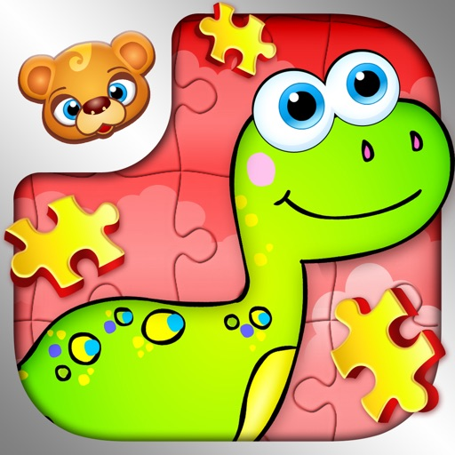 123 Kids Fun PUZZLE RED - Kids Slide Puzzle Games