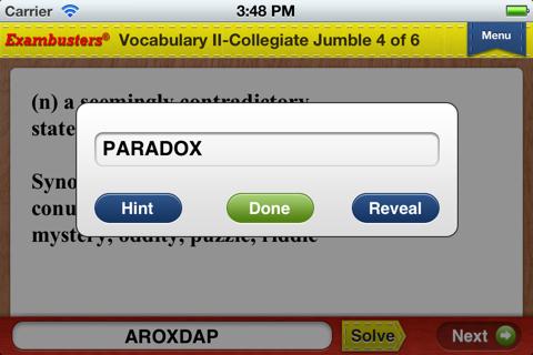 English Vocabulary Flashcards Exambusters - náhled