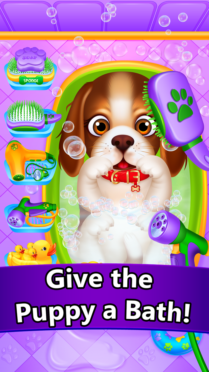 Baby Pet Vet Doctor - Dog, Cat & Animal Spa Games Screenshot