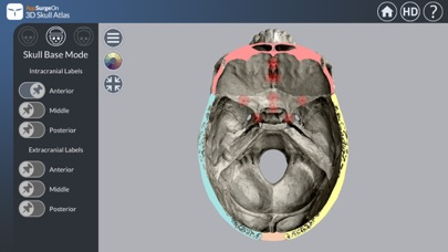 3D Skull Atlasのおすすめ画像3