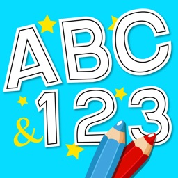Anitrek Coloring - ABC & 123 learning app for Kids
