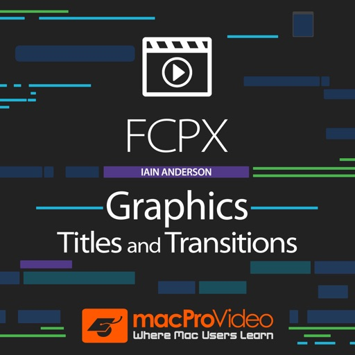 FCPX Graphics Titles and Transitions iOS App