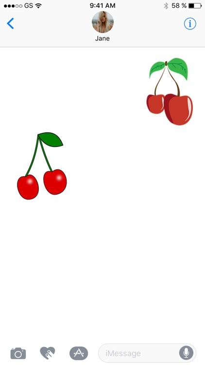 Cherry Sticker Pack!