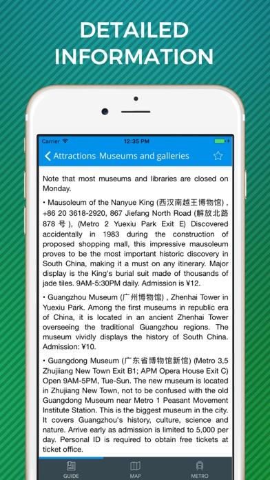 Guangzhou Travel Guide with Maps screenshot four