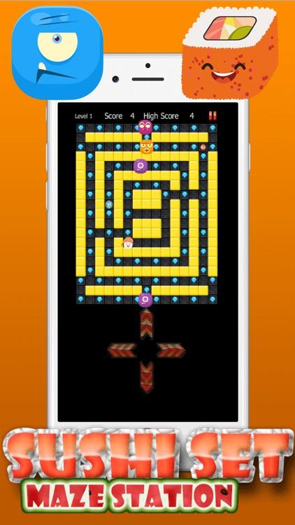 Sushi Set Touch Maze screenshot-3