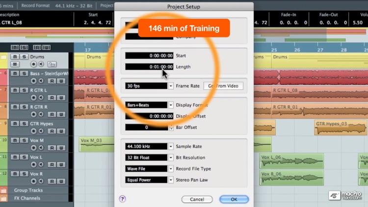 Course For Cubase 6: Production Basics screenshot-4