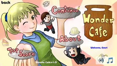 Wonder Cafe screenshot one