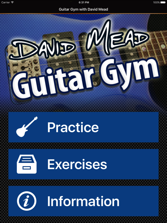 David Mead : Guitar Gym screenshot